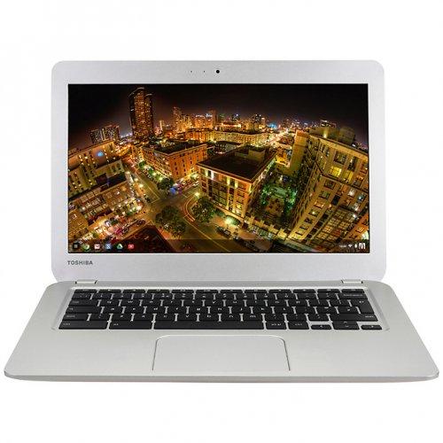 "Toshiba CB30-B-104 Chromebook 2, Intel Celeron, 4GB RAM, 16GB SSD, 13.3"", Silver, £269.95 John Lewis"