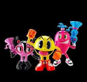 Pac-Man & the Ghostly Adventures 2'' Figures £1 each @ Discount UK & Poundworld