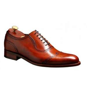 Barker Linz Semi Brogue Shoes £130 - Country House Outdoor - RRP £280