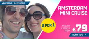 DFDS 2 for 1 Amsterdam Mini Cruise £79