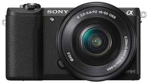 Sony A5100 Black or White Camera £279.99 @ Amazon