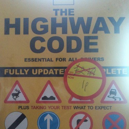 Highway Code 1p @ Morrisons