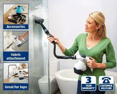 hand held steam cleaner £9.99 @ Aldi