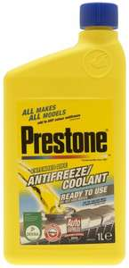 Prestone Antifreeze Ready to Use 1L@ Tesco instore