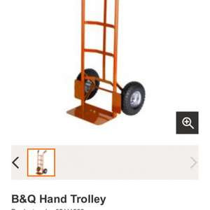 B&Q sack trolley barrow £17 reduced from £30 instore