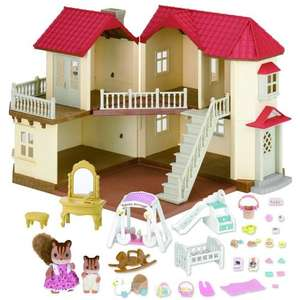 Sylvanian Families: Beechwood Hall Gift Set includes figures and furniture (see description) £59.99 (from £89.99) & FREE delivery @ Amazon