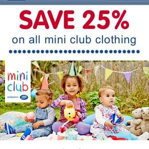 Boots - 25% off mini club clothing