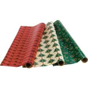 3 x 5m rolls of christmas wrapping paper @ ARGOS - £1
