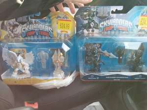 Skylanders Trap Team both Dark and Light Element Expansion Packs in Stock in Store at Smyths Toys. £24.99 each