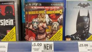 The Borderlands collection (1 & 2) PS3 Xbox 360 £5  @ Tesco instore