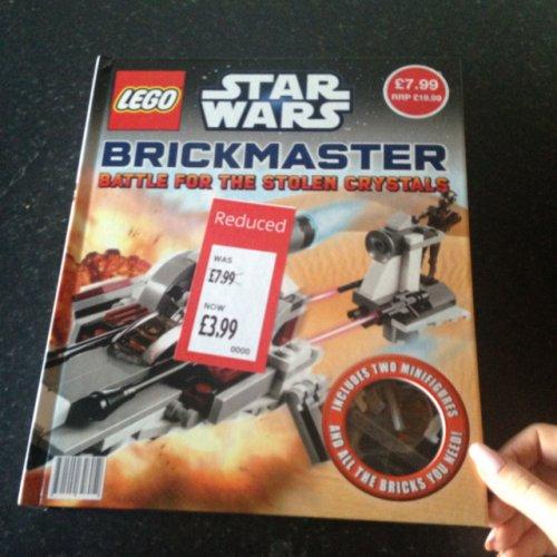 Lego starwars book with lego Aldi £3.99