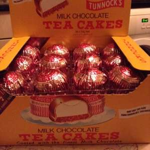 Tunnocks Milk Chocolate Tea Cakes £3 @ Asda