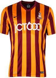 Bradford City FC Short Sleeve Home Shirt £44 @ Bradford City FC Club Shop