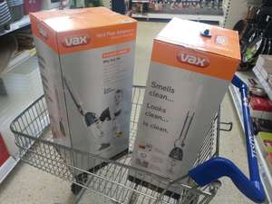 VAX S3S BARE FLOOR CARE STEAM MOP WAS £99 NOW £18.62 @ TESCO instore