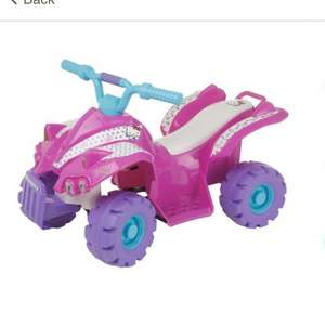 Hello Kitty Battery Operated Quad Bike £17 @ Tesco - Isle of Wight