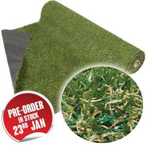 CC Grass: Artificial Turf Grass (1m x 4m) £29.99 @ Home Bargains