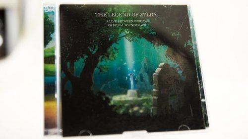 Zelda Link Between Worlds 2 x CD Soundtrack - Club Nintendo 3000 Stars