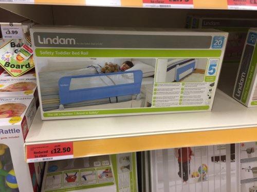 Lindam bed rail 1/2 price £12.50 @ Sainsburys