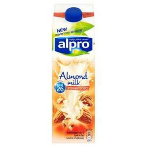 Alpro Almond Milk 97p @ Asda Instore and Online