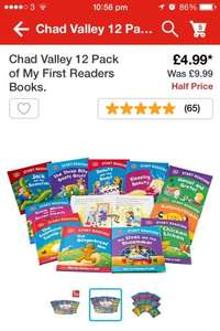 Chad Valley 12 Pack of My First Readers Books £4.99 @ Argos