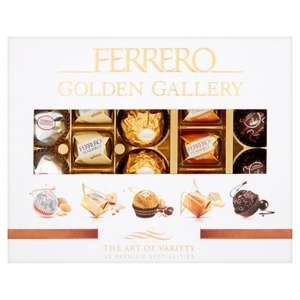 Ferrero golden gallery 440g £3 @ Tesco