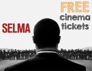 STUDENTS ONLY - Selma cinema tickets, 1st and 2nd Feb