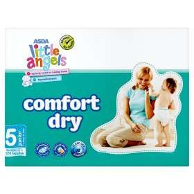 Huge boxes of ASDA Little Angel Nappies £11 each (equiv to 3 packs worth)