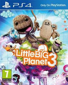 (PS4) LittleBigPlanet 3 - £25.99 - Shopplay
