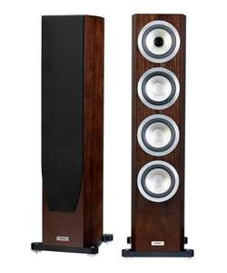 Tannoy Precision 6.4 Floorstanding Speakers - Satin Walnut Finish £999 (Save £1200) @ Creative Audio