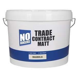 2x 10 litres Trade Contract Matt Emulsion Paint £25.00 @ Screwfix