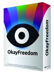 OkayFreedom VPN Software  - 1 Year Premium FREE (RRP: £29.95) - Surf the net from any country, privately!