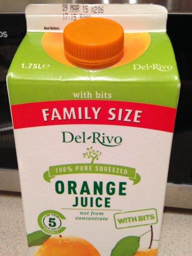 Del-Rivo 1.75L 'family size' 100% pure Orange Juice £1.69 @ Aldi