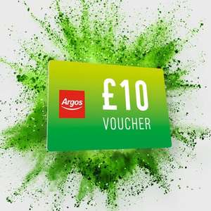 Free £5 Gift Voucher when you spend £50 / Free £10 Gift Voucher when you spend £100 @ Argos
