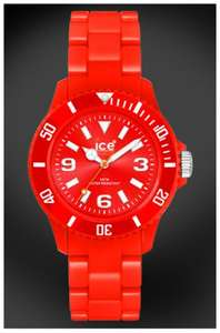 Ice-Watch unisex Ice-Solid red watch - WAS £92.49 NOW £27.99 @ Argos