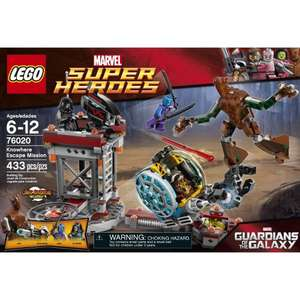 LEGO Knowhere Escape Mission - 76020 £29.99 Argos In-store Guardians of the Galaxy