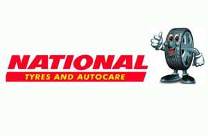 MOT for £35, Wheel Allignment for £15, Free Puncture Repair and more @ National Tyres