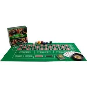PartyPoker 3-in-1 Casino Night Kit (Poker, Blackjack, Roulette) WAS £14.99 NOW £3.99! at Argos