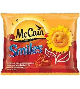 McCain Smiles (454g) was £1.60 now 80p @ Morrisons
