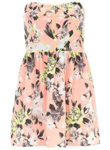 Scarlett B Bandeau Dress £5 free delivery or free c&c - reduced from £42