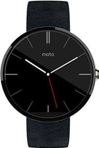 Motorola Moto 360 Android Wear Smartwatch Black £165.38 @ Amazon Es