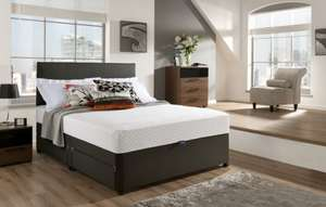 Silentnight Mattress 7-Zone Memory Foam Rolled Mattress, King Now just £189.99 or £180.49 @ Amazon