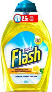 Flash Liquid Gel 400ml £1.50 @ sainsbury possible £0.60 with shopitize cashback and supersavvyme voucher