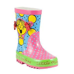 Little Miss Sunshine Wellies now £7 @ John Lewis online