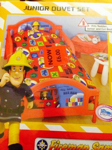 Fireman sam junior duvet covers £6 @ Asda