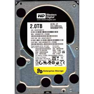 WD RE4 2TB (WD2003FYPS) - Enterprise Grade HDD! £55.00 Sold by CrossCables and Fulfilled by Amazon