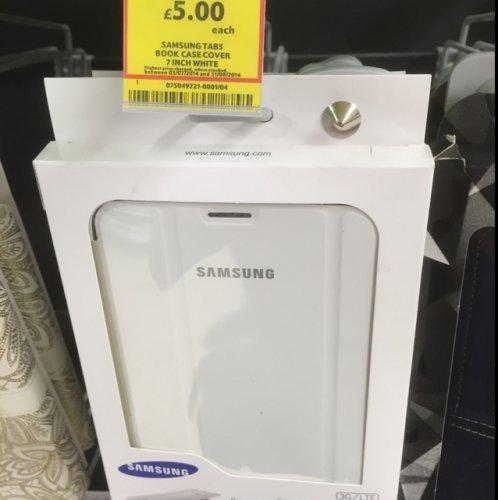 "Genuine Samsung galaxy tab 3 7"" case £5.00 @ Tesco instore"