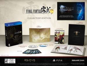 FINAL FANTASY TYPE-0 COLLECTOR'S EDITION FOR PS4 AND XBOX ONE! £70.00 @ Tesco Direct