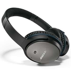 Bose QuietComfort 25 QC25 Noise Cancelling headphones - Black/White - £193.97 @ Amazon.es delivered, 30% cheaper than Amazon.co.uk (£270) !