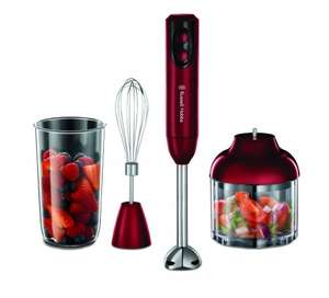 Russell Hobbs 18986 Rosso 3-in-1 Hand Blender - Red 70% off £15 @ Debenhams Free c&c