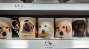 Pug Mug & Other Dog Mugs 99p @ Home Bargains
